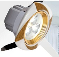cerámicas luz de techo al por mayor-50 unids / lote luces de techo 3 w de alta potencia de cerámica led lámpara de cocina superficie montada llevó la luz de techo para baño iluminacion