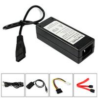 ata hdd 2.5 venda por atacado-Venda por atacado - USB 2.0 para IDE SATA S-ATA 2.5 3.5 Disco rígido HD HDD Converter Adapter Novo MOSUNX Futural Digital Venda Quente F35