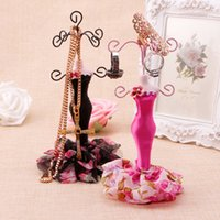 Lady Model Mannequin Holder Earring Earrings Pulsera Jewelry Display Stand