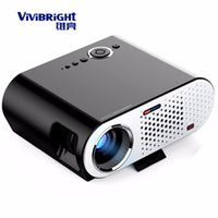Оптово-Vivibright GP90 Светодиодный проектор Mini Home Theater Proyector 3200 Lumen 1280x800 Кинотеатр USB Full HD Video WXGA 720P HDMI VGA