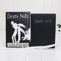 Wholesale Notebooks Write - Free shipping New Death Note Cosplay Notebook & Feather Pen Book Anime Writing Journal