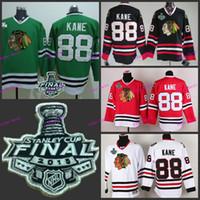 Wholesale 88 Wholesale - chicago blackhawks #88 patrick kane 2015 Final Stanley Cup ,Best quality,ICE Winter Jersey,Embroidery Logo,Size M--3XL,Hockey Jerseys