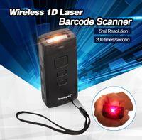 Wholesale Laser Barcode Scanner Usb Decoder - Wholesale- Upgraded CT30 Mini Pocket Wireless 1D Laser Barcode Scanner High Speed 1D Code Decoder Reader Bluetooth 1D Scanner Wireless