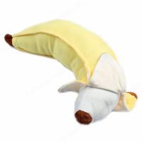 Wholesale banana pillow stuffed - Wholesale- M89CSoft 50cm Simulation Cotton Banana Plush Stuffed Toy Novelty Pillow Cushion Gift