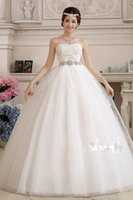 Wholesale Simple Wedding Dresses Korean Style - Custom Made 2015 New Spring And Summer The Bride Wedding Dress For Pregnant High Waist Lace Korean Style Bride Dress