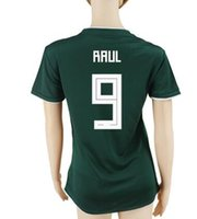 Wholesale customized soccer jersey name resale online - 18 Thai Quality R Jimenez Soccer Jerseys Customize Need Name Number Mexico Women Thai Quality Jersey M LAYUN C VELA Soccer Wear
