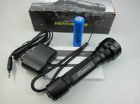 akrep pil toptan satış-Yüksek kaliteli LAIX U6 LED taktik El Feneri CREE Q5 LED Su Geçirmez şarj edilebilir Havacılık alüminyum alaşım el feneri
