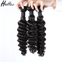 Wholesale Wholesale Virgin Hair Manufacturers - 100% human hair directly from manufacturer 3bundles hair extension natural raw unprocessed virgin brazilian hair weave for black women