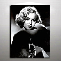 Wholesale Marilyn Monroe Canvas Prints - Sexy Marilyn Monroe Picture Modern Oil Painting Printed on Canvas Mural Art for Home Living Hotel Cafe Wall Decor