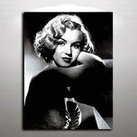 marilyn monroe wandmalerei großhandel-Sexy Marilyn Monroe Bild Moderne Ölgemälde auf Leinwand Wandbild Kunst für Home Living Hotel Cafe Wand Dekor gedruckt