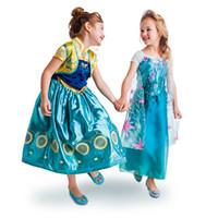 trajes da rainha venda por atacado-Novo estilo Febre Rainha Princesa Vestidos Menina Vestido De Lantejoulas Vestido de Festa de Renda para o Dia Das Bruxas Natal Cosplay Prop Trajes