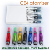 Wholesale Electronic Cigarette Ego Ce8 - EGO CE4 Atomizer With Mix Colors Ce4 Clearomizer 1.6ml Vapor Tank Electronic Cigarette Ce4+ Ce5 Ce6 Ce7 Ce8 Ce9 Atomizer
