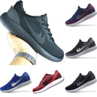 Wholesale Glide White - Wmns 2017 Newest Zoom Lunar Glide 8 Running Shoes Original Lunar Glide 8 Wmns Zoom Mens Casual Sneakers