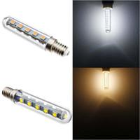 menor refrigerador venda por atacado-5050 SMD E14 3 W 16LED Pequenas Mini Luzes LED Lâmpada de Poupança de Energia Para Exaustores de Fumaça Exaustor de Cozinha Ventilador Frigorífico