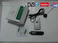 Wholesale dvb t remote control for sale - Group buy USB DVB T RECEIVER WANDTV DVB T Digital TV Tuner Stick Support H2 Mpeg4 Mini USB Reciever Full of HD Black Color With Remote Control