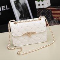 Wholesale Dimond Bags - Clutch Single Bolsas New Bolsos Edhi For Trend Women's Handbag Dimond 2015 Plaid Female Chain Small Bags One Shoulder Cross-body