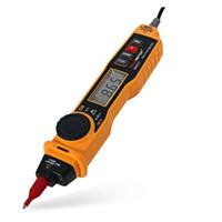 tipo multimetro al por mayor-Freeshipping NCV AC DC Corriente Resistencia de Voltaje Diodo Conectividad Multitester Pen Type Multímetro Digital