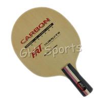 hrt tenis de mesa al por mayor-Venta al por mayor- HRT 2082 OFENSIVO + Mesa de tenis de mesa Shakehand para raqueta PingPong