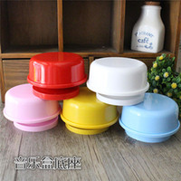Wholesale Clay music box base circular rotating wind up music box DIY clay handmade clay Parts Factory Outlet