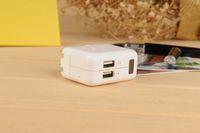 Wholesale Adapter Dvr Spy - 1080P Hidden AC Adapter Plug Wall USB Charger Spy Camera DVR DV 1920x1080P AVI EU US UK plug Charger Spy camera DHL 20 PCS