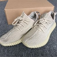 Wholesale Oxford Shoes For Men - Sneakers Women 2017 Boost 350 Pirate Black Turtle Dove Moonrock Oxford Tan Running Shoes for Men Kanye West 350 Boost with Box