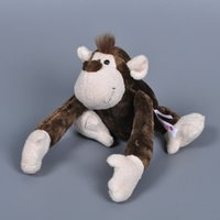 Wholesale Nici Monkey - 20pcs 23cm NICI Jungle Series Monkey Plush Toys NICI Monkey Stuffed Animal Dolls Toy Cartoon Monkey Stuffed Doll Toys For Children Gifts