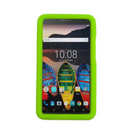 Wholesale Lenovo Silicone - MingShore Rugged Silicone Case Cover For Lenovo Tab 3 7 Plus 7.0 Durable Protective Case For Lenovo TB-7703X TB-7703F 7.0 Tablet