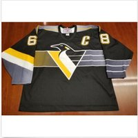Wholesale Pittsburgh Embroidery - Pittsburgh Penguins Vintage #68 Jaromir Jagr Hockey Jersey Embroidery Stitched Customize any number and name Jerseys