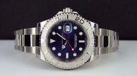 Wholesale watch chest - Luxury WATCHES NEVER WORN Platinum Blue Dial 40mm 116622 - WATCH CHEST Man Wristwatch