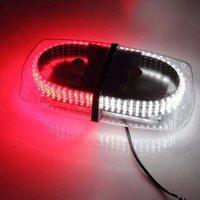 12v führte mini strobe licht großhandel-Ausgezeichnete 12V 240 LED Notfall Warnwarnung Mini Bar Strobe Light-Rot / Weiß