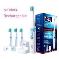 ultrasonik diş fırçası toptan satış-KEMEI Elektrikli Diş Fırçası Ultrasonik Akıllı Diş fırçası Rotasyon Tipi Su Geçirmez Ağız Hijyeni Diş Bakımı b pro diş fırçası BT-184