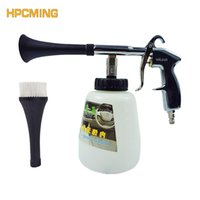 Wholesale Cleaning Interior - Wholesale- 2017 Promotion New Arrival Gs Foam Lance Tornador Interior Deep Cleaning Gun Car Wash With Brush (mofl003)