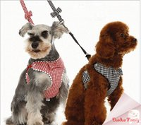 Wholesale Poodle Accessories - Wholesale-Cute leash dog suit Teddy dog Free shipping fit Beagles,Yorkshire,Chihuahua,Pomeranian,Poodle,Labrador