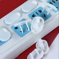 Wholesale Safety Plug Covers - Plastic Safety Electrical Outlet Plug Cover Proof for Baby Toddler Wall Guard JF9