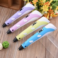 Wholesale cheap kids toys for sale - Kids Toy Cheap D Printing Pen v2 Support ABS PLA With LCD Screen