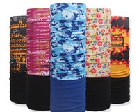 Wholesale Womens Headwear - Outdoor Magic Scarf High Elastic Womens and Mens Headbands Resistance Headscarves Headwear Mask