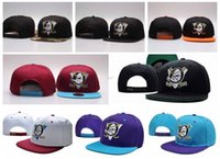 Wholesale Mighty Ducks Adjustable Hat - 2016 NHL Mighty Hockey Snapback Hats Anaheim Ducks bone cap Flat Fashion nhl Hats sports Cheap mens & women baseball caps