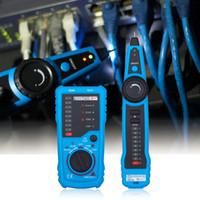 cable trazador rj45 al por mayor-Alta Calidad RJ11 RJ45 Cat5 Cat6 Teléfono Rastreador de Cables Tracer Tóner LAN Ethernet Cable de Red Tester Detector Buscador de línea