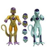 2pc / set 5inch Anime Dragon Ball Z DBZ Change Face Figure Freeza Frieza SHF S.H.Figuarts PVC Action Figure Коллекционная модель Toy Doll