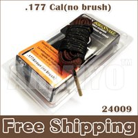 Wholesale Bore Snake 177 - Armiyo New Hot Sale Hoppe's 9 Boresnake Fastest Bore Snake Cleaning .177 Cal ( No Brush ) Shooting Hunting Cleaner 24009