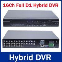 UK uk-uk - 16Ch Hybrid DVR NVR 960H Full D1 16 Ch Real-time H.264 Standalone CCTV DVR Recorder 16CH Audio 8CH Alarm PTZ HDMI Output 3G&WIFI