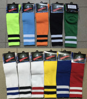 sports tube socks - youth Kids children boys socks Football Soccer Sport Above Knee Tube Socks Long Thick Bottom Soccer Stockings socks