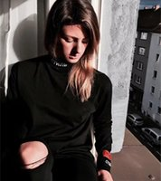 Wholesale High Collar Sweatshirt Women - Heron Preston Sweatshirts Men Women 1:A High Quality Solid color Turtleneck Heron Preston Heron Preston Sweatshirts