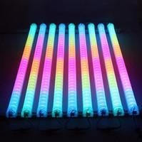 levou tubo digital venda por atacado-LEVOU Neon ba Sinal IP 66 LED Tubo Digital / LED tubo DMX mudança de cor à prova d 'água fora colorido tubos de construção tubo de luz de decoração sportligh