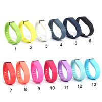 Wholesale Wholesale Wireless Pedometers - Fitbit Flex Band Black With Clasp Replacement TPU Wrist Strap Wireless Activity Bracelet Wristband With Metal Clasp (No Tracker) Opp Packing