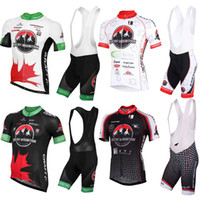 Wholesale Black White Cycling Bibs - Bicicletas Sale Ropa Ciclismo High Quality 2016 Rocky Mountain Red&black&white Jersey Cycling Short Sleeve Wear+bib Shorts Sets Can Mix Size