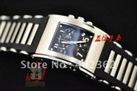 Wholesale Kilada Watch - Wholesale-Luxury Mens Jorg Hysek Chronograph Kilada Black Dial Watch 2 Tone Steel Bracelet Sport Sapphire Crystal Watches