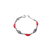Wholesale Traditional Celtic Dresses - New Design Geometric Enamel Eyes Lips Female Bracelet Summer Dress Accessories Charming Bracelet