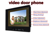 """Wholesale High Resolution Designs - 2015 new design 7"""" high resolution Color outdoor video security systems for Smart Home with big button"""