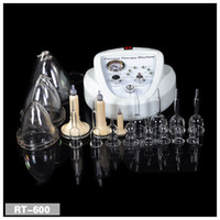 Wholesale Bust Cup Size - 2017 Newest Vacuum Massage Therapy Enlargement Pump Lifting Breast Enhancer Massager Bust Cup Body Shaping Beauty Machine